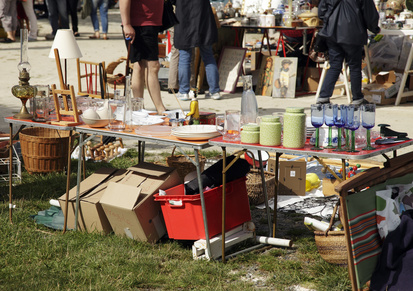 Flohmarkt das alternative Shoppingerlebnis